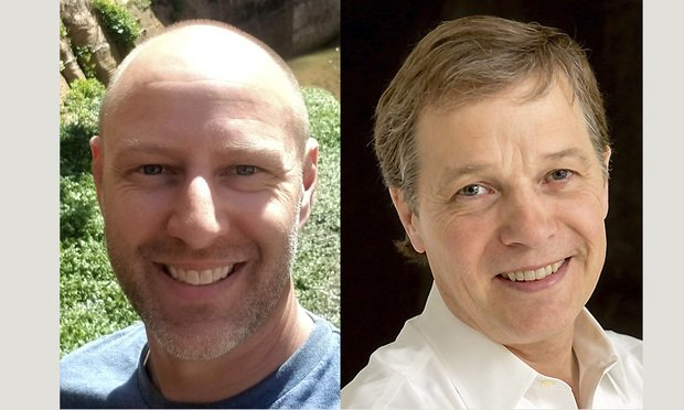 Daniel Wilde and Ken Callander