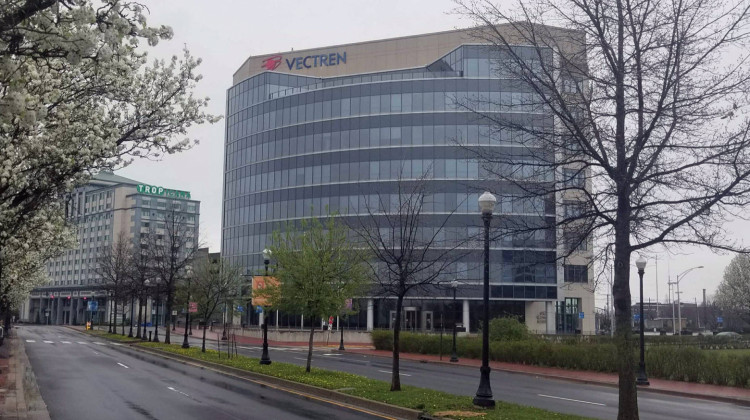 Vectren, headquartered out of Evansville, merged with CenterPoint Energy in 2019. - FILE: Samantha Horton/IPB News