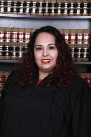 Judge Blanca A. Banuelos of the San Joaquin County Superior Court.